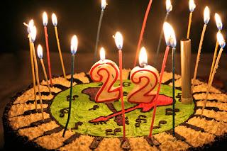 22nd birthday